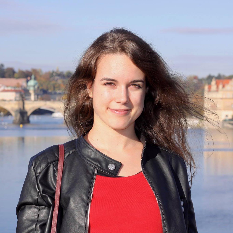 Absolventka Tereza Minářová