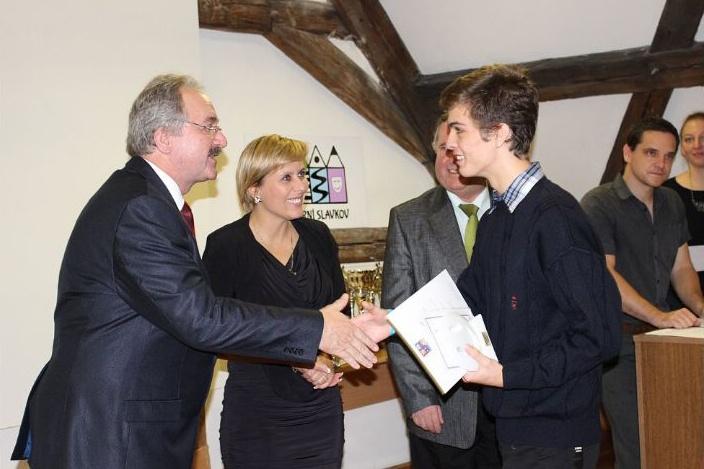 Gratulujeme k ocenění žáků Gymnázia Cheb