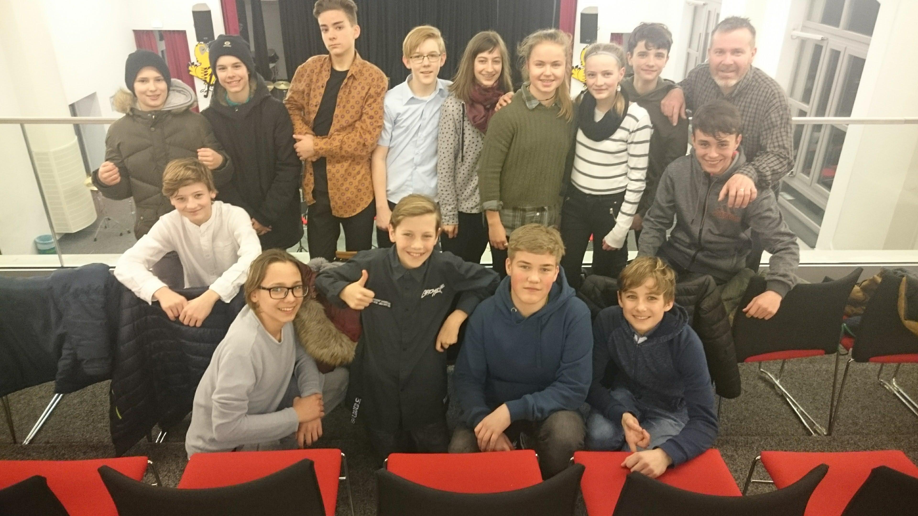 Úspěch Young Bandu Gymnázia Cheb v hudební soutěži v SRN
