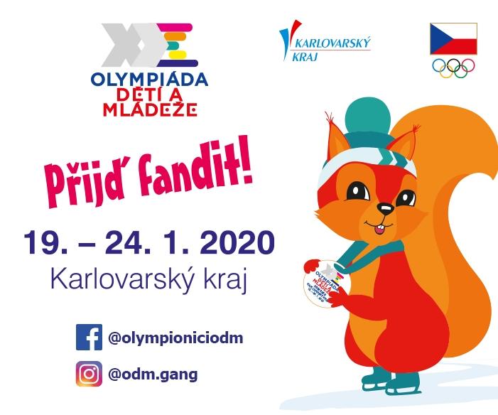 Hry IX. zimní olympiády dětí a mládeže ČR 2020